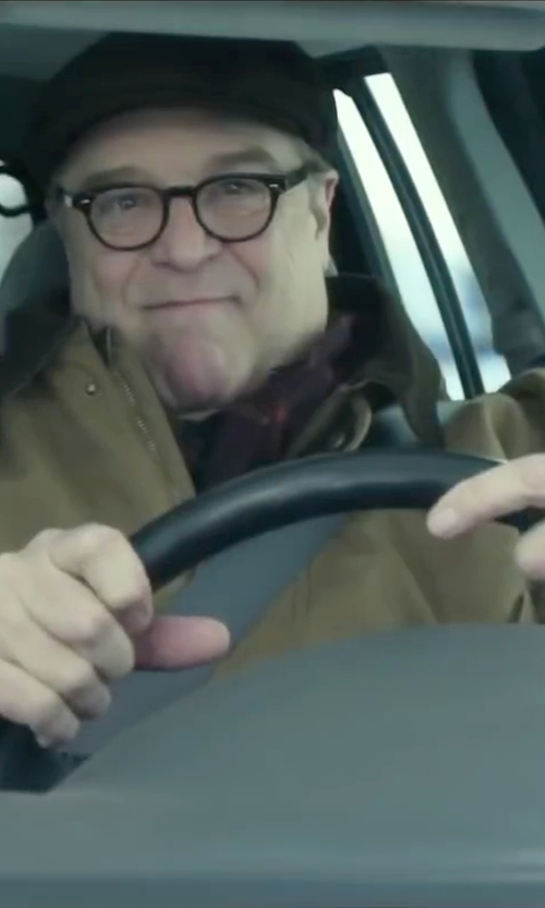 John Goodman with Cherish Always Platinum Wedding Band Ring in Love the Coopers
