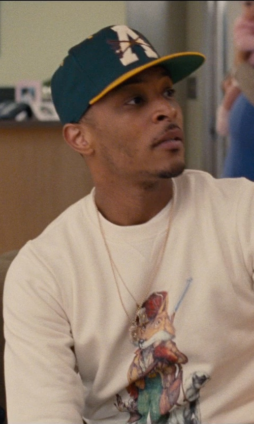 T.I. with '47 Brand Oakland Athletics '47 Franchise Cap in Entourage