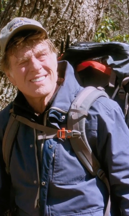 Robert Redford with Helly Hansen Squamish CIS Jacket in A Walk in the Woods