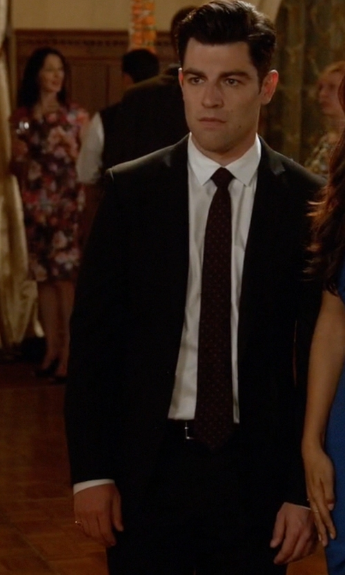 Max Greenfield with Browns Classic Two-Piece Suit in New Girl