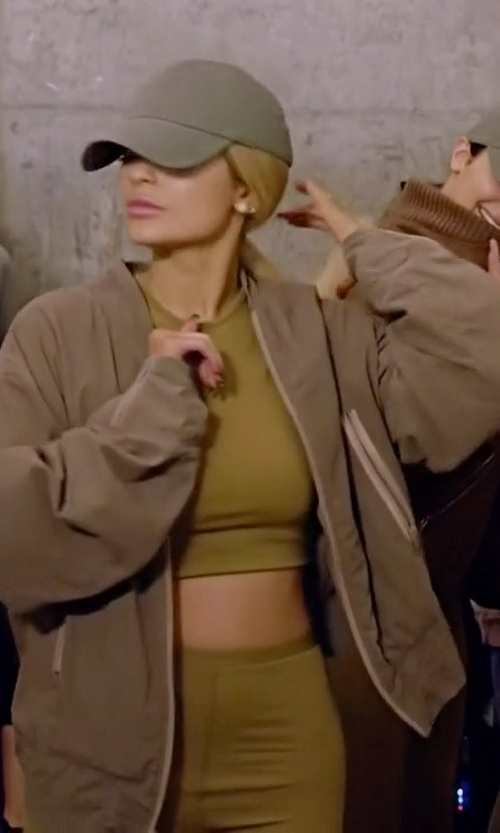 Kylie Jenner with Yeezy SS16 Crop Top in Keeping Up With The Kardashians