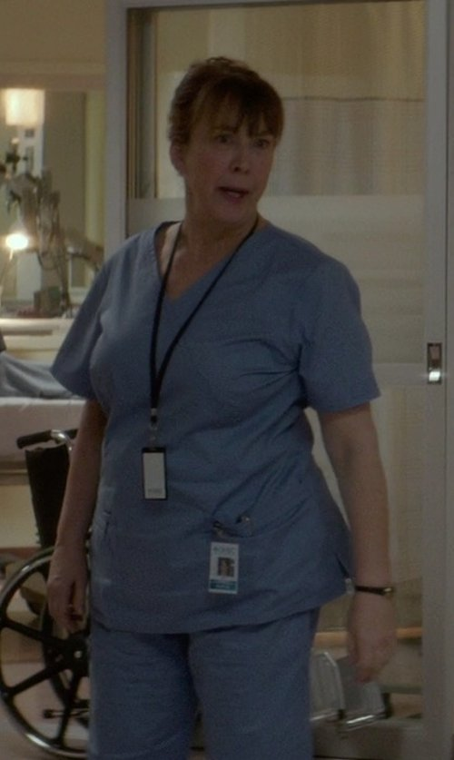 Christine Willes with Salus Uniforms Unisex Scrub Set in If I Stay