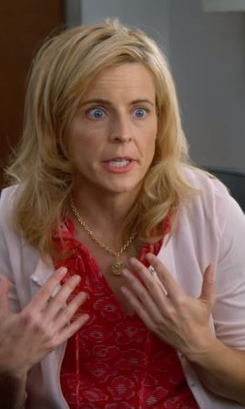 Maria Bamford with Talbots Charming Cardigan in Lady Dynamite