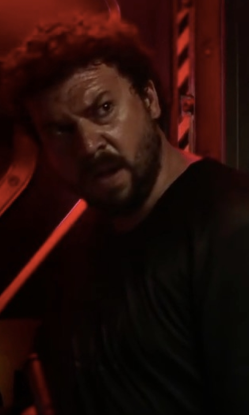 Danny McBride with John Elliott Classic Crew T-Shirt in Alien: Covenant