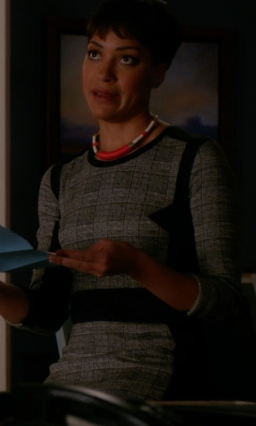 Cush Jumbo with Alexander Wang Short Dress in The Good Wife