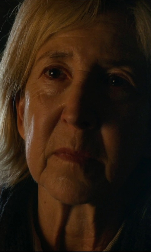 Lin Shaye with Cosabella Cortina Hotel Robe in Insidious: Chapter 3