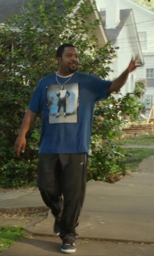 Ice Cube with Nike Dri-Fit Speed Running Pants in Barbershop: The Next Cut