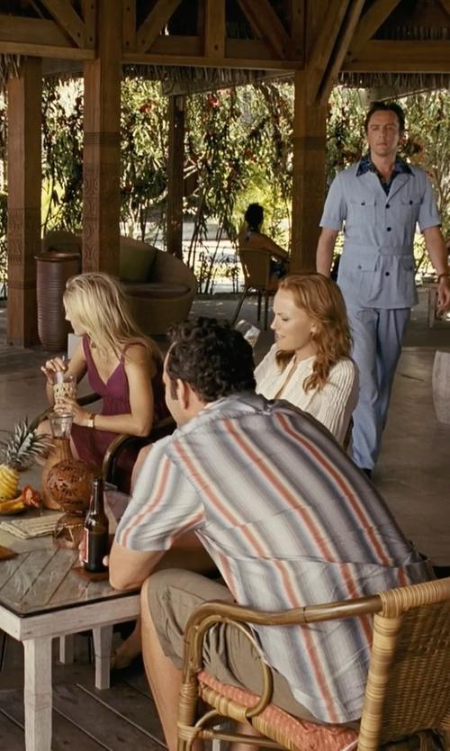 Vince Vaughn with Rodd & Gunn Flax Bay Short in Couple's Retreat
