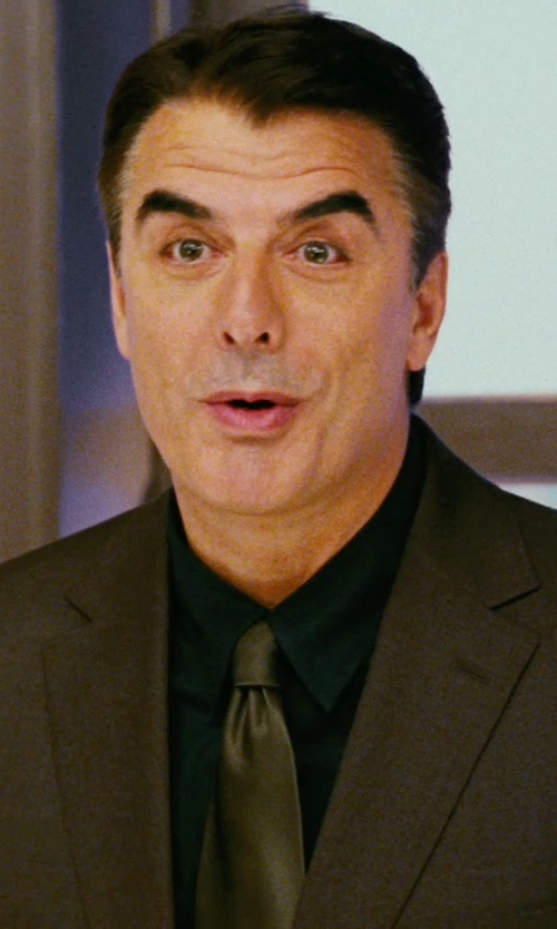 Chris Noth with Dolce & Gabbana Stretch Cotton Point Collar 'Sicilia' Dress Shirt in Sex and the City