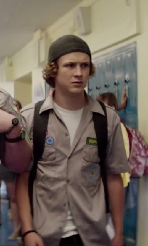 Logan Miller with Miansai Savoy Bracelet in Scout's Guide to the Zombie Apocalypse