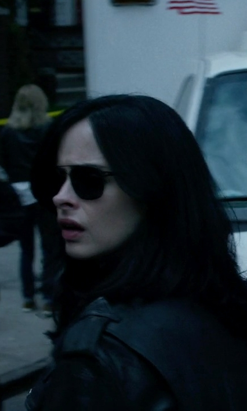 Krysten Ritter with Ray-Ban Aviator Sunglasses in Jessica Jones