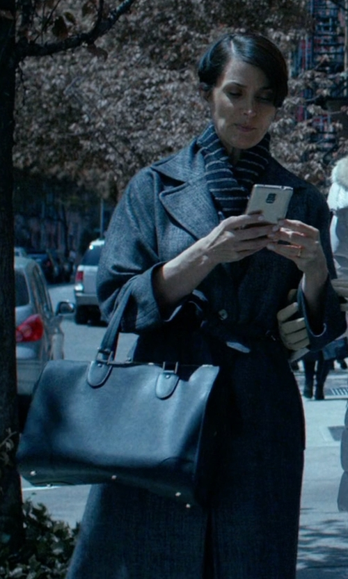 Carrie-Anne Moss with Rebecca Minkoff Women's Piper Tote Bag in Jessica Jones