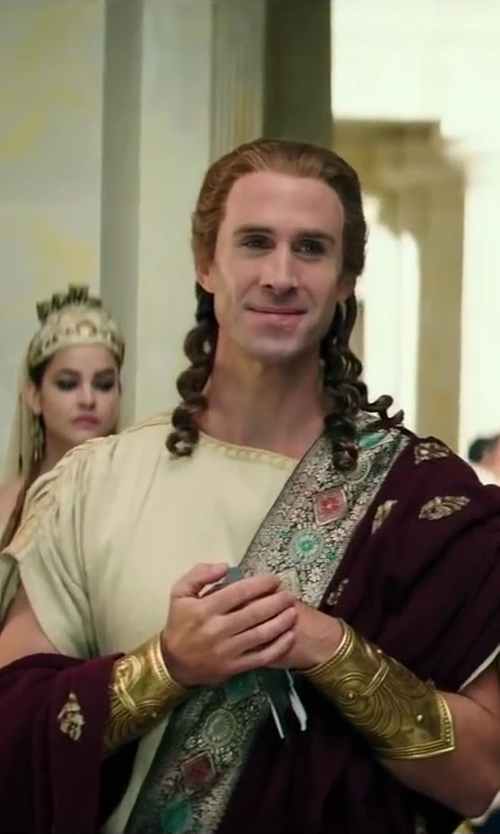 Joseph Fiennes with Jany Temime (Costume Designer) Custom Made King Eurystheus Costume (King Eurystheus) in Hercules