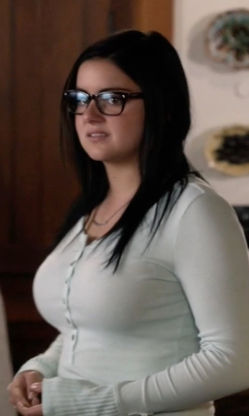 Ariel Winter with NSF Hal Henley T-Shirt in Modern Family