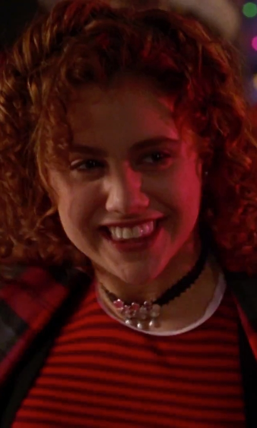Brittany Murphy with Skyfall2014 Gothic Victorian Black Lace Necklace Vampire Cospaly Purple Charm Choker in Clueless