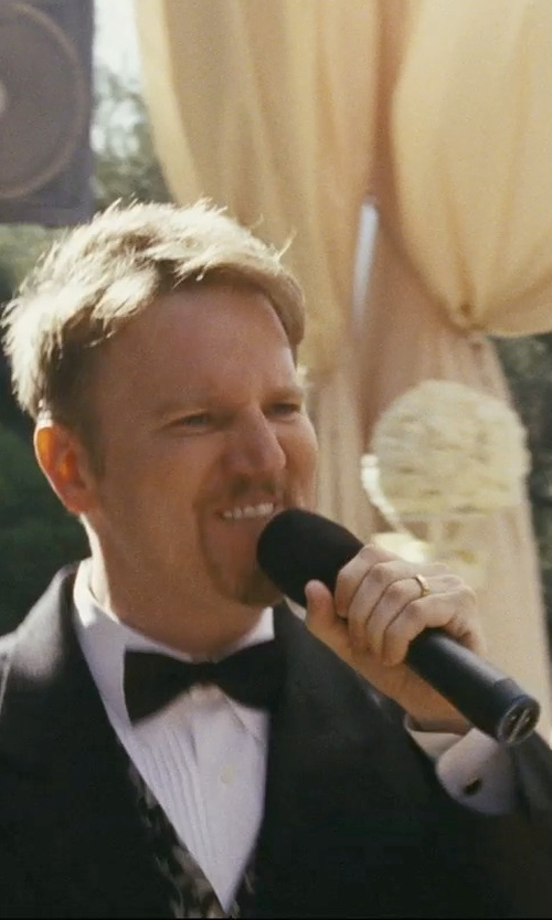 Dan Finnerty with Zales Diamond Wedding Band Ring in The Hangover