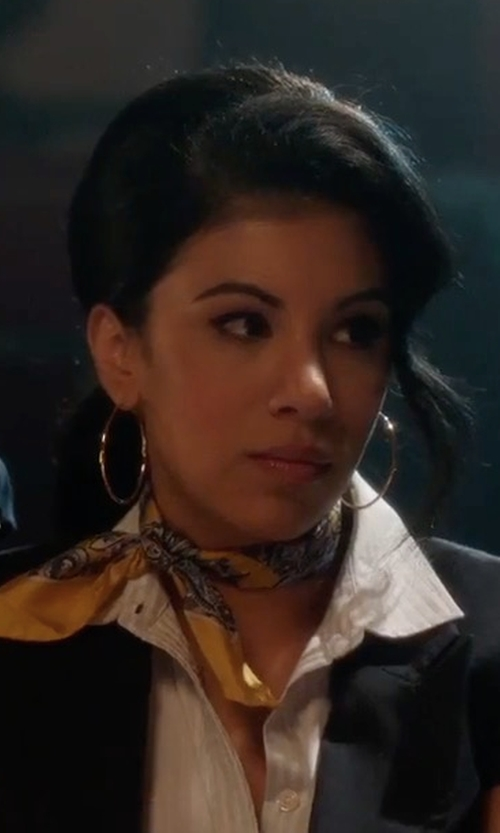 Chrissie Fit with Private Label Short Sleeves Fitted Blazer in Pitch Perfect 3