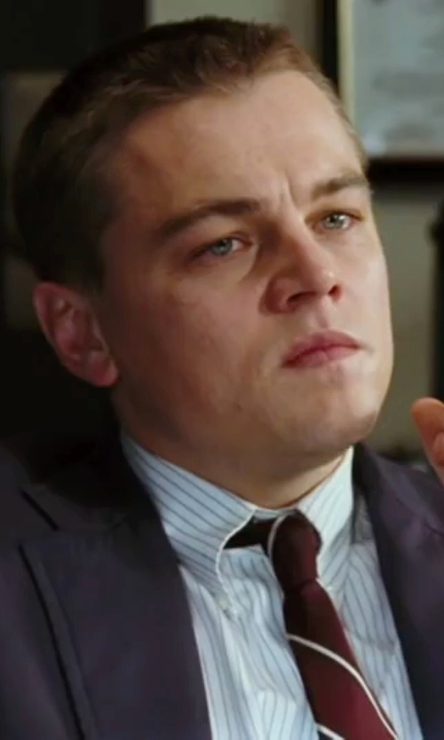 Leonardo DiCaprio with Nordstrom Boardroom Silk Tie in The Departed