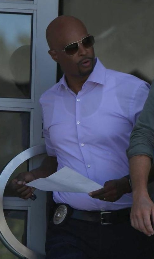 Damon Wayans with Dior Homme Aviator Sunglasses in Lethal Weapon