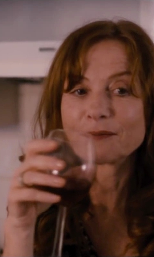 Isabelle Huppert with Bark Zip Front Sweater in The Disappearance of Eleanor Rigby