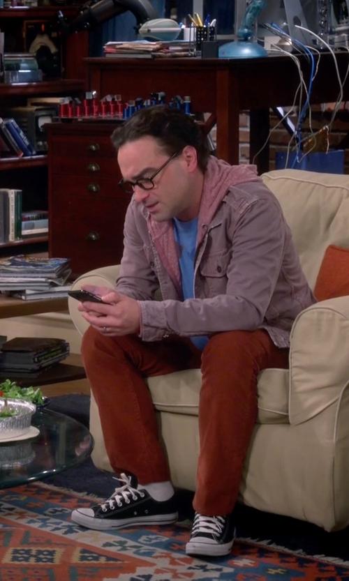 Johnny Galecki with Incotex Ray-C Pants in The Big Bang Theory