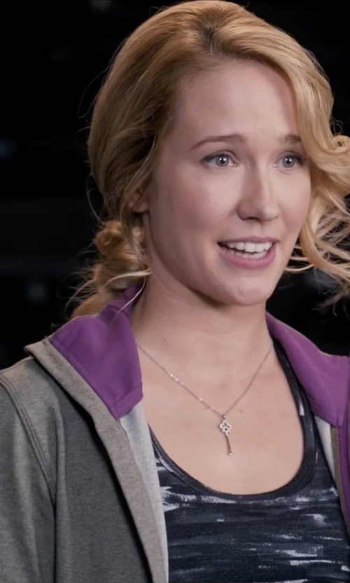 Anna Camp with Nike Club Fleece Hoodie Jacket in Pitch Perfect