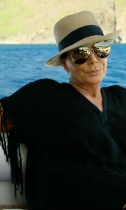 Kris Jenner with Salinas Beach Cover Up in Keeping Up With The Kardashians