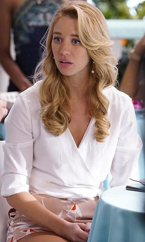 Yael Grobglas with Finders Keepers Last Time Shorts in Jane the Virgin