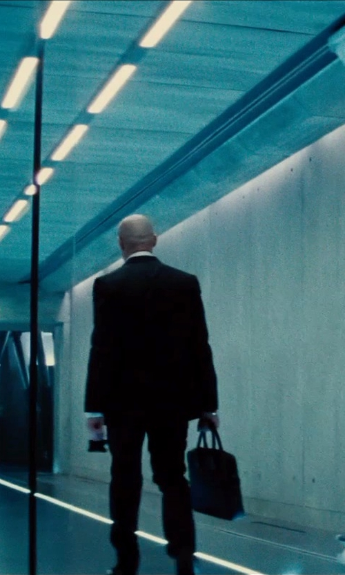 Simon Pegg with Lanvin Rectangular Tote in Mission: Impossible - Rogue Nation