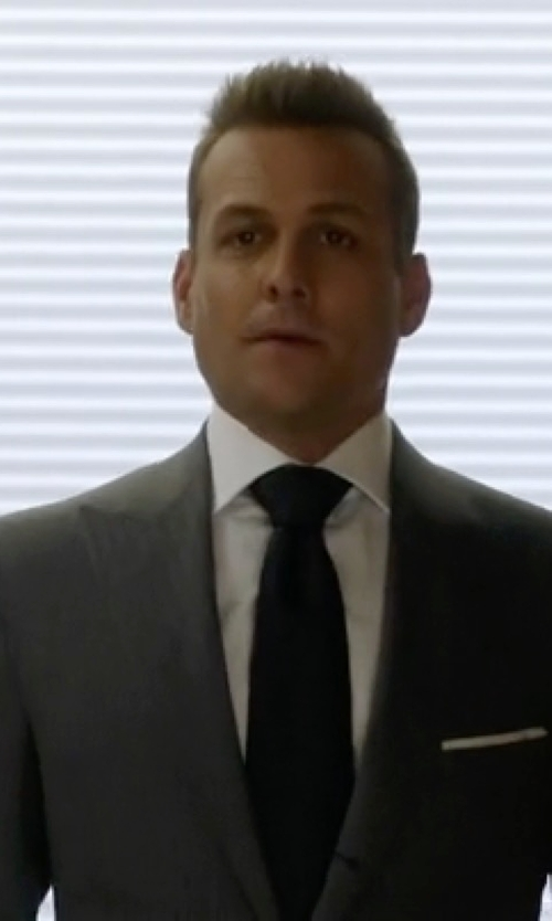 Gabriel Macht with Theory Kenai Dress Shirt in Suits