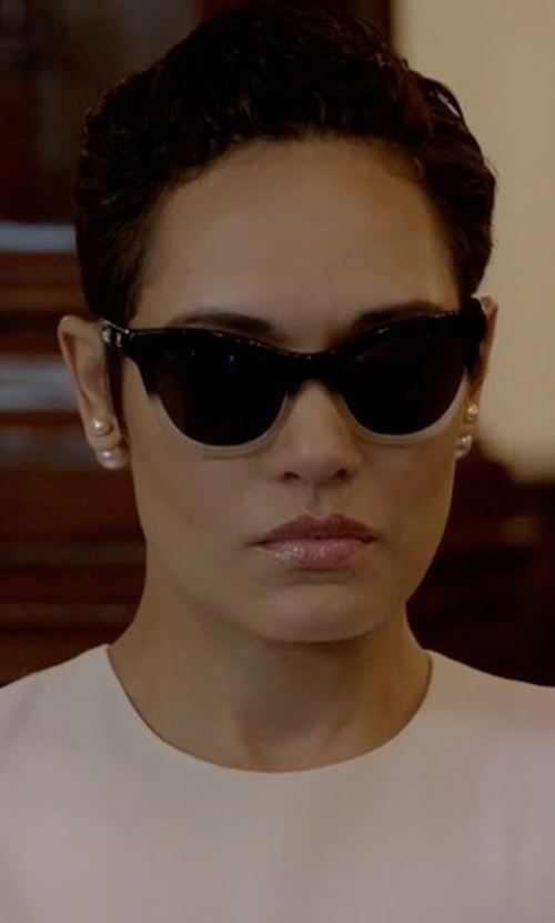 Grace Gealey with Chanel Summer Cat Eye Sunglasses in Empire
