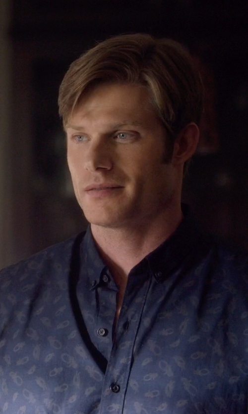 Chris Carmack with Billtornade Denim Shirt in Nashville