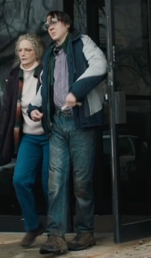 Paul Dano with WESC Two Tone Jacket in Prisoners