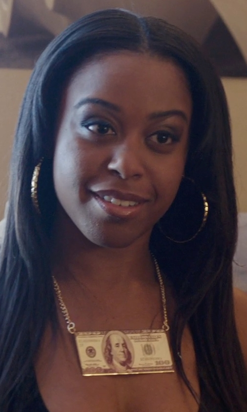 Dominique Perry with Nadri Pavé Inside Out Hoop Earrings in Get Hard