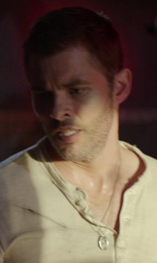 James Marsden with All Patron Saints Oval Saint Christopher Necklace in The Best of Me