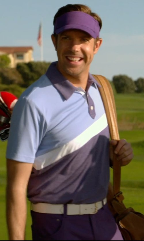 Jason Sudeikis with Otto Caps Cotton Jersey Knit Sun Visor in Horrible Bosses 2