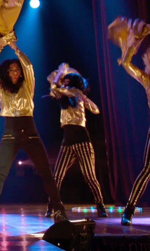 Hana Mae Lee with Nike Force Sky High Casual Sneakers in Pitch Perfect 2