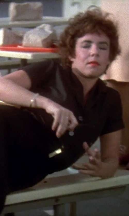 Stockard Channing with Lee Short Sleeve Work Shirt in Grease