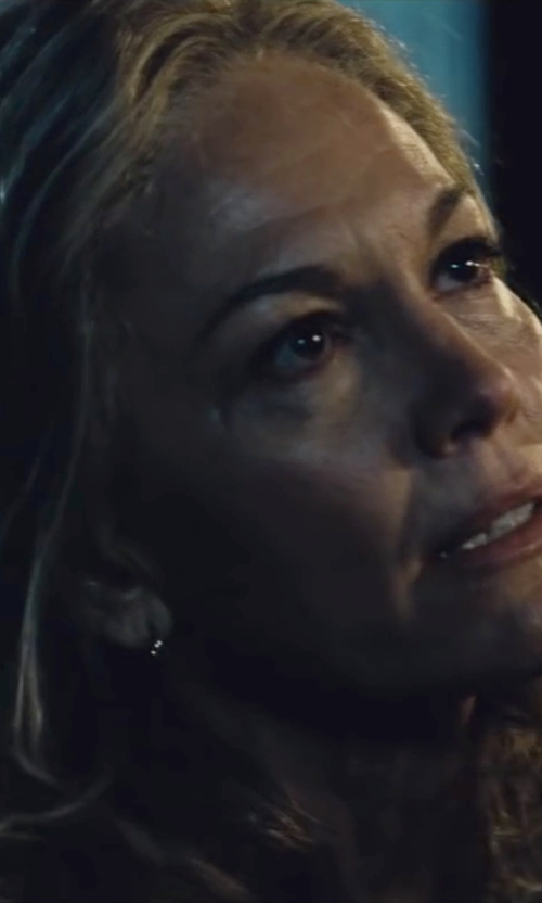 Diane Lane with All Is Good Polished Hoop Earrings in Batman v Superman: Dawn of Justice