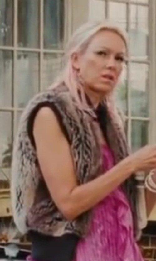 Naomi Watts with BB Dakota Lida Sweater Vest in St. Vincent