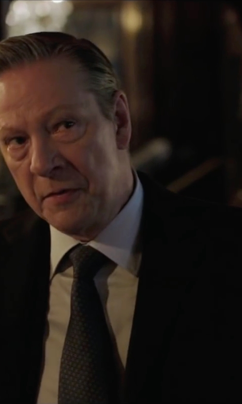 Chris Cooper with Tonello Two Piece Suit in Demolition