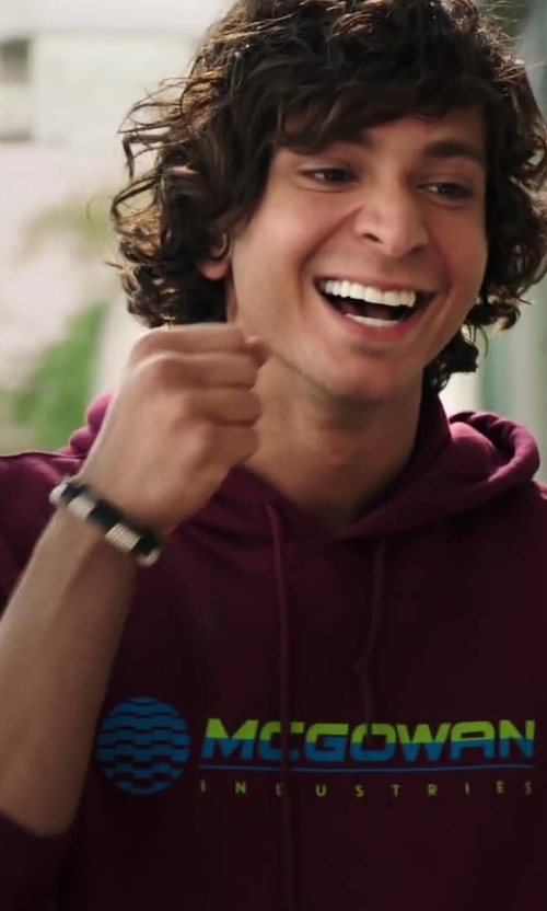 Adam G. Sevani with Gildan Hooded Sweatshirt in Step Up: All In