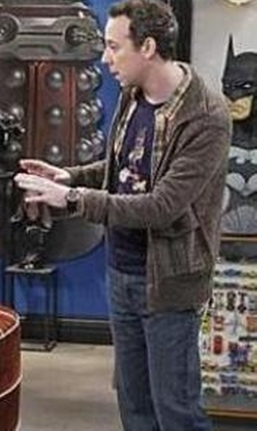 Kevin Sussman with Outdoor Research Exit Jacket in The Big Bang Theory