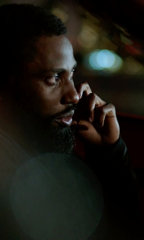 John David Washington with Paul Smith Jeans Leather Bomber Jacket in Ballers