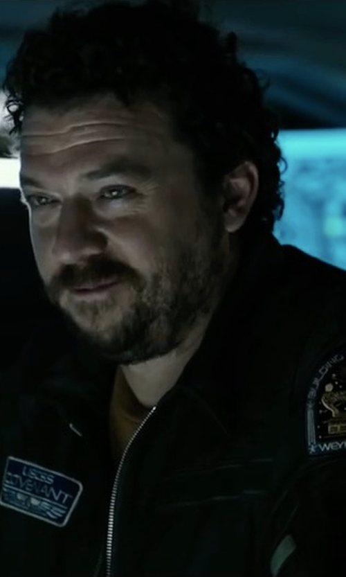 Danny McBride with Bellfield Hubble Jacket in Alien: Covenant