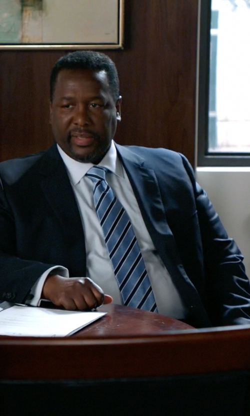 Wendell Pierce with Ted Baker London 'Jones' Trim Fit Wool Suit in Suits