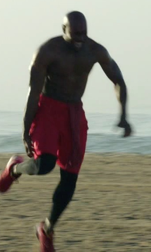 Morris Chestnut with Nike Dri-Fit Fly Short in Rosewood