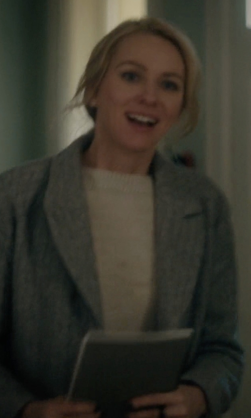 Naomi Watts with C/Meo Better Off Coat in Gypsy