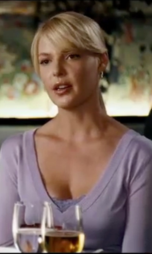 Katherine Heigl with Fred Perry V-Neck Sweater in Knocked Up