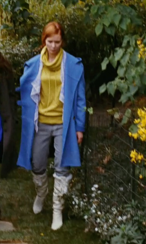 Cynthia Nixon with Chanel Snow Boots in Sex and the City